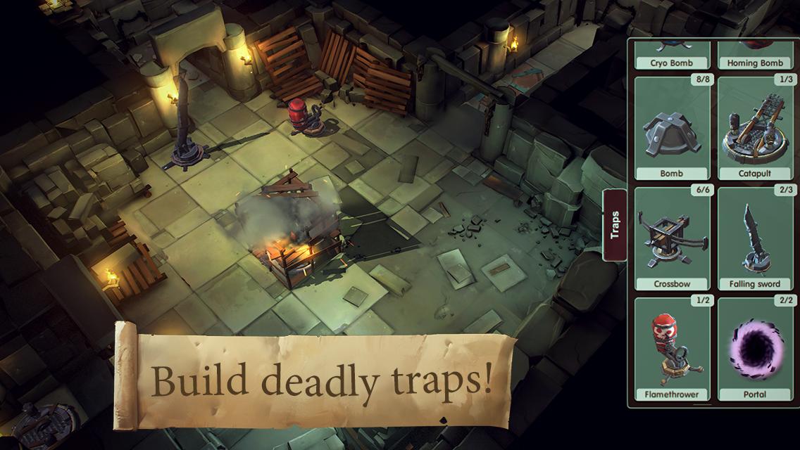 Build deadly traps