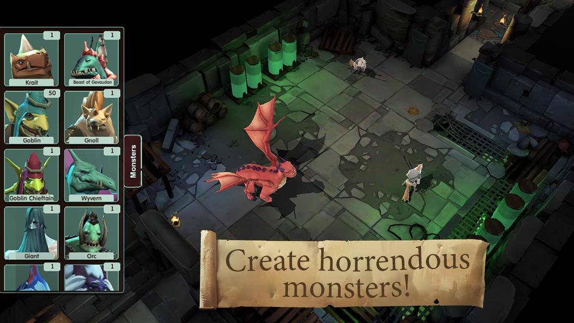 Create horrendous monsters!