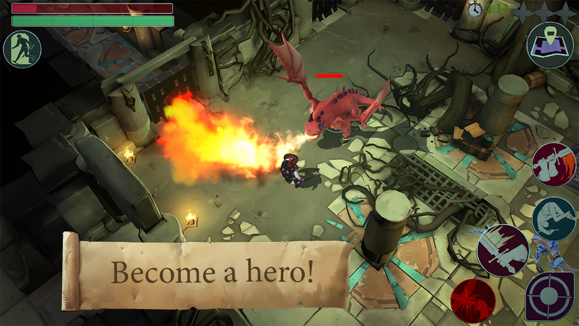 Become a hero!
